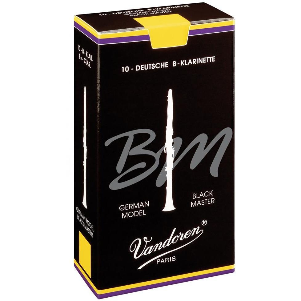 Vandoren Reeds Clarinet Bb 4 Black Master (10 BOX)