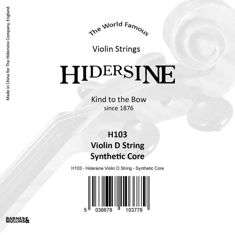 Hidersine Violin D Synthetic core
