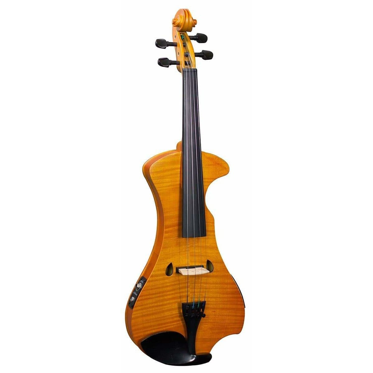 Hidersine Electric Violin Outfit - Flamed Maple Veneer