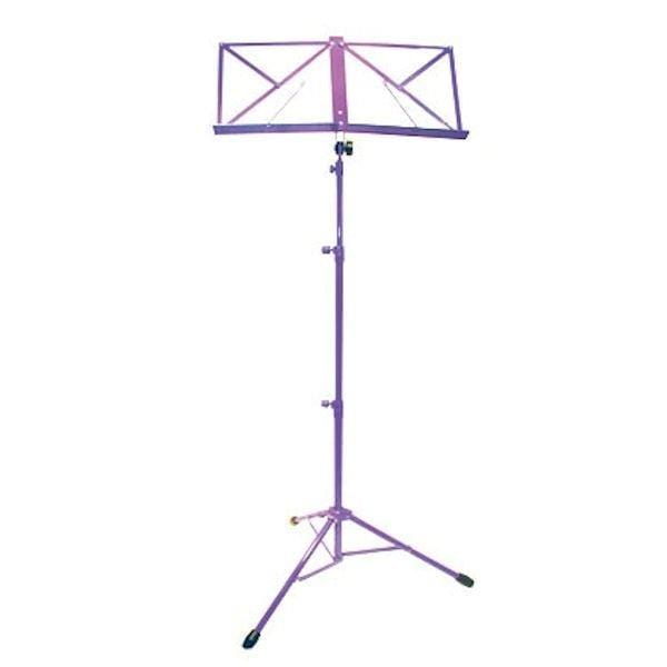 TGI Music Stand in Bag. Purple