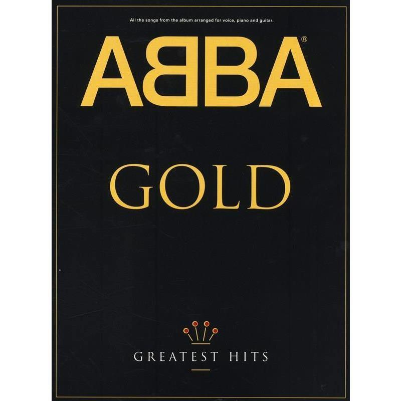 ABBA Gold: Greatest Hits: Piano, Vocal, Guitar - Biggars Music