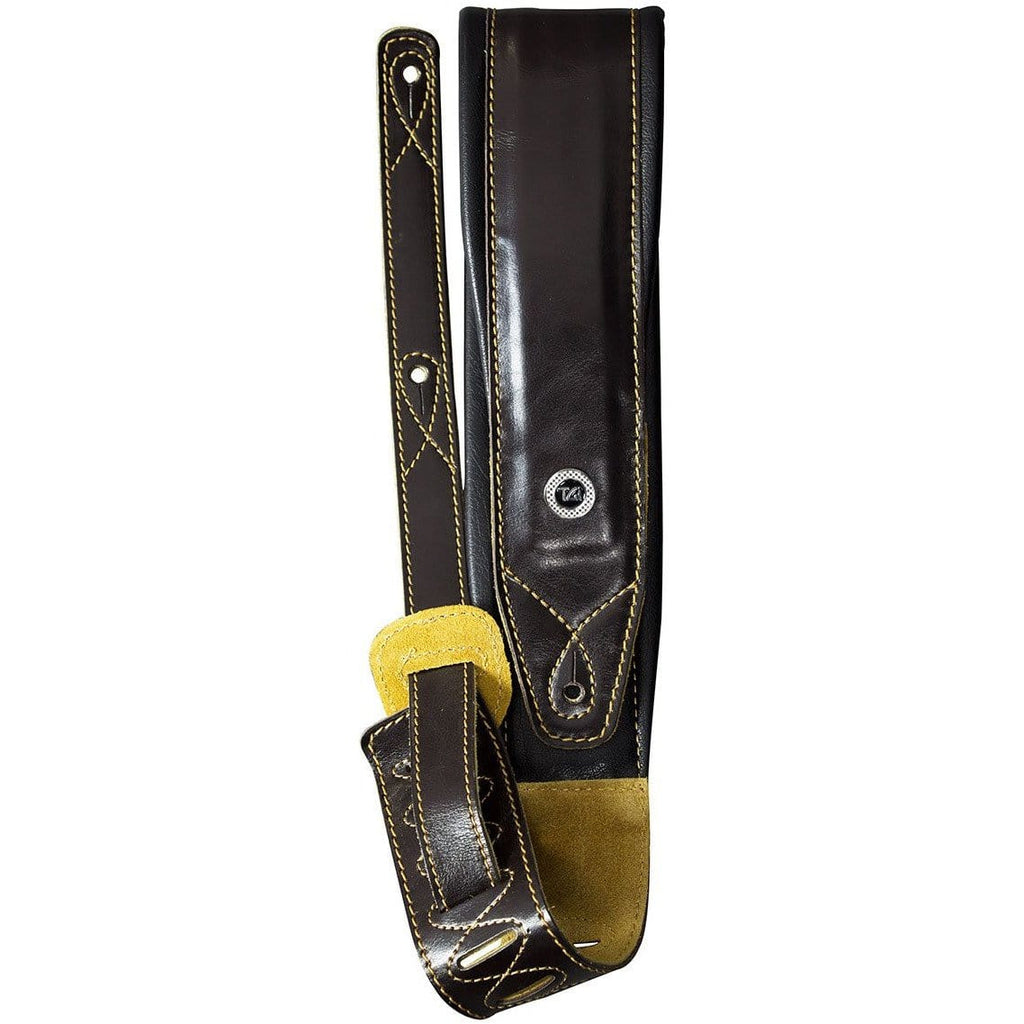 TGI Strap Padded Brown Leather