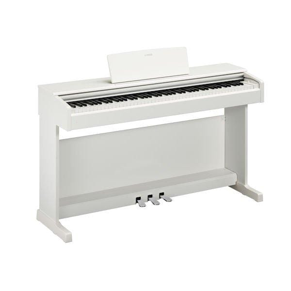 Yamaha YDP144 Satin White Arius Digital Piano
