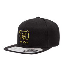 Bexar Signature Snapback Black Hat