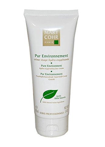 Mary Cohr Pure Environment hydra-oxygenating face cream 100ml/3.4oz. Salon Size New Fresh Product