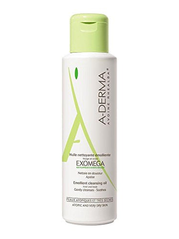 A-DERMA Exomega Emollient Cleansing Oil 500ml Dry Skin New Fresh Product