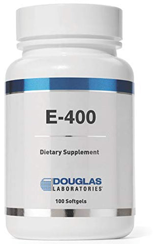 Douglas Laboratories - E-400 - Vitamin E for Antioxidant Protection and Cardiovascular Support - 100 Capsules