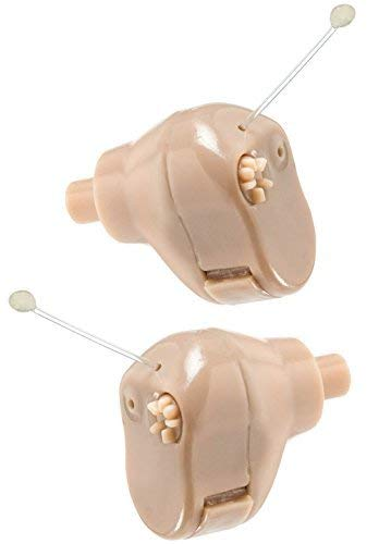 "NewEAR Hearing Amplifier Ear ITC (Pair) ""Extra Small"" Second Generation"