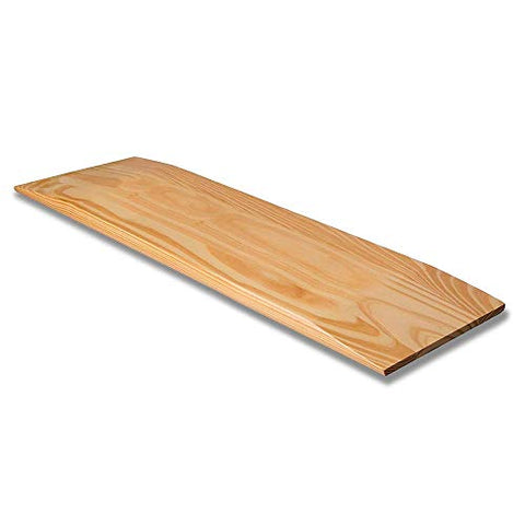 DMI Transfer Board Made of Heavy-Duty Wood for Patient, Senior and Handicap Move Assist and Slide Transfers, Holds up to 440 Pounds, Solid, 24 x 8 x 1