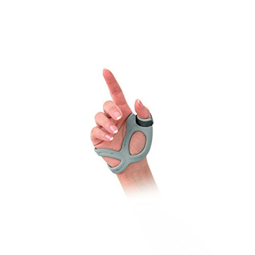 Fla 3 D Adjustable Right Thumb Brace, Medium   Grey