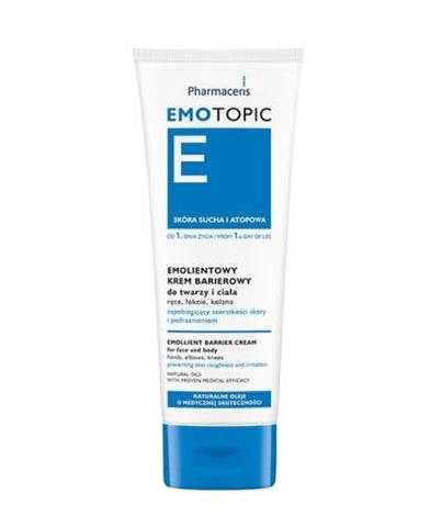 Pharmaceris EMOTOPIC Emollient Barrier Cream Dry and atopic Skin New Fresh Product