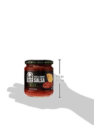 Taco Bell Thick And Chunky Salsa - Mild - 16 Ounces