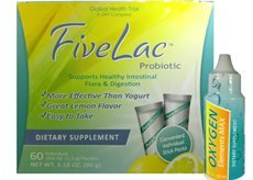 Fivelac Candida Defense / Oxygen Elements Max Dietary Supplement