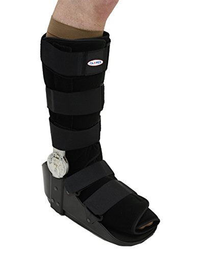 ITA-MED ROM Post Op Fracture Walker Sports Injury Brace, M