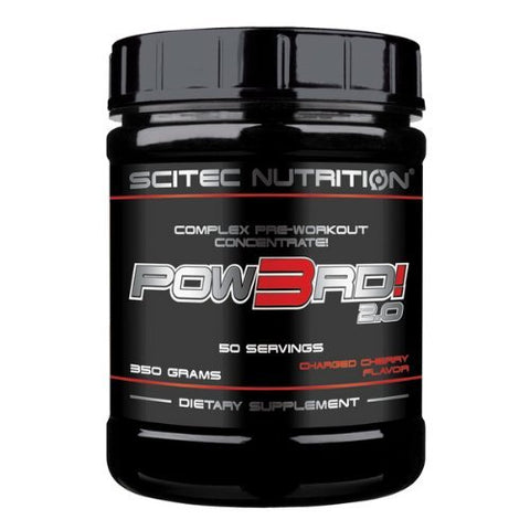 Scitec Nutrition POW3RD! 2.0 350g Cherry Crank by Scitec Nutrition