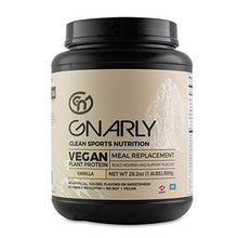 Gnarly Nutrition, Meal Replacement Vegan Protein Blend From Pea, Chia and Cranberry for Muscle Development, Vanilla, 28.2 Oz (16 Servings)