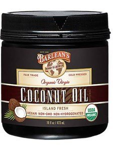 Barleans, Extra Virgin Coconut Oil Organic, 16 Ounce