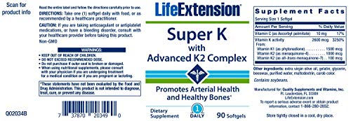 Super K With Advanced K2 Complex   90 Ct