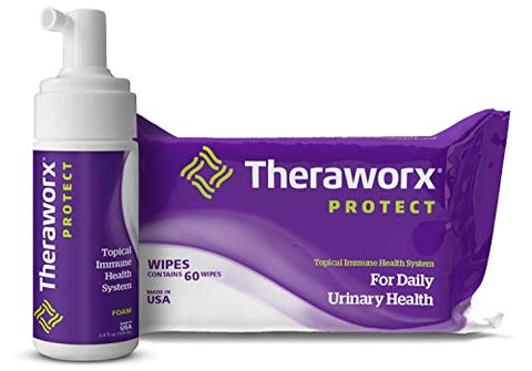 Theraworx Protect U-Pak for Urinary Health and Hygiene