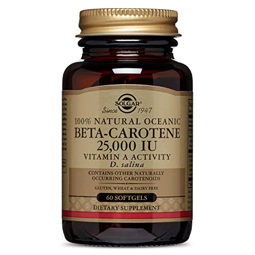 Solgar   Oceanic Beta Carotene 25,000 Iu, 60 Softgels