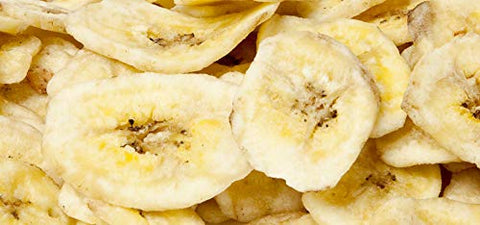 Smarty Stop Sweetened Banana Chips ~ Healthy Chips (Banana Chips, 2LB)
