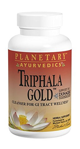 Planetary Herbals Triphala Gold 1000mg Extra Strength Ayurvedic   120 Tablets