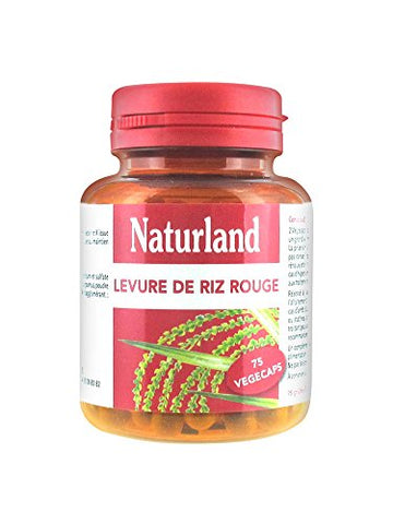 Naturland Red Rice Yeast 75 Vegecaps