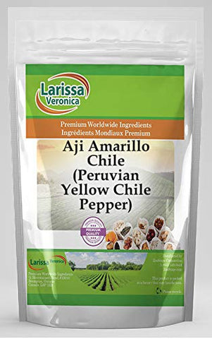 Aji Amarillo Chile (Peruvian Yellow Chile Pepper) (4 oz, ZIN: 526692) - 3 Pack