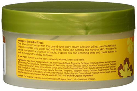 Alba Botanica Body Cream Kukui Nut