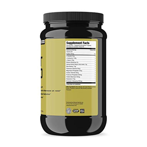 Ultimate Nutrition Post Gold Post-Workout Muscle Recovery Fatigue Reducing Powder with Glutamine, Cherry Limeade