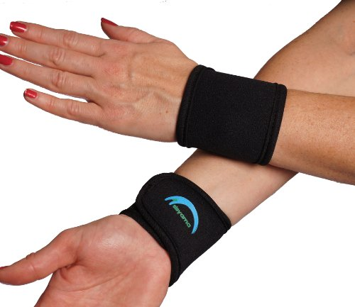 2 X Adjustable Neoprene Wrist Support Wristbands Size Men Women Youth Kid 360ã'â° Comfort Fit