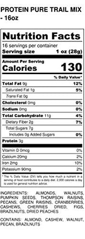 Protein Trail Mix 1 LB