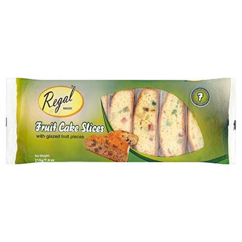 Regal Bakery Fruit cake slices - 210g