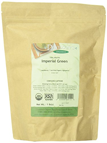 Davidson's Tea Bulk, Imperial Green Tea, 16-Ounce Bag