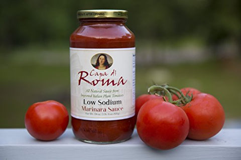Capa Di Roma Low Sodium Marinara Sauce