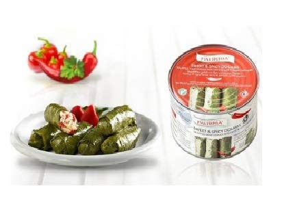 Palirria Stuffed Vine Leaves Sweet & Spicy Dolmas Pack of 1