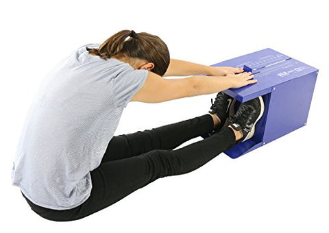 Baseline-12-1085 Sit n' Reach Trunk Flexibility Assessment Testing Box with Easy-To-Read Scale and Built in Footplate,Standard
