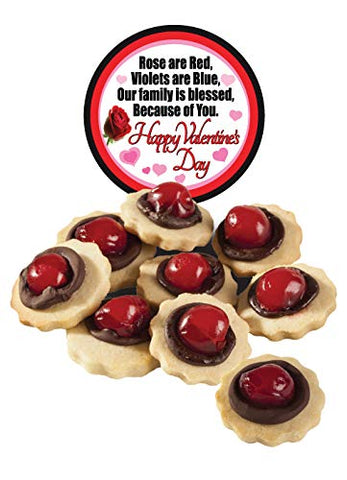 VALENTINE'S DAY - CHOCOLATE CHERRY BUTTER COOKIES - FAMILY