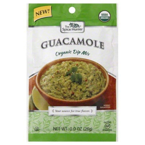 Spice Hunter Mix Dip Guacamole44; 0.9 Oz44; Case of 12