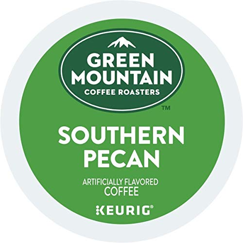 Green Mountain Coffee Roasters Southern Pecan, Single Serve Keurig K Cup Pods, Flavored Light Roast,