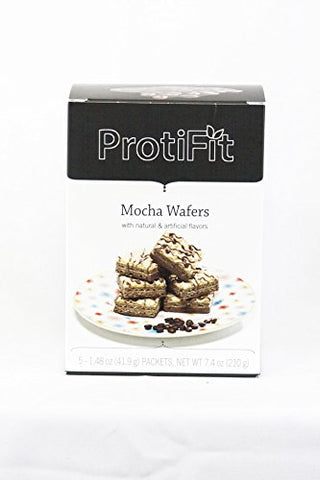 Proti Fit Mocha Protein Wafers Ideal Protein Compatible