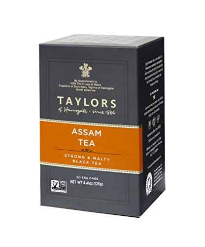 Taylors of Harrogate Pure Assam, 50 Teabags, (Pack of 6)