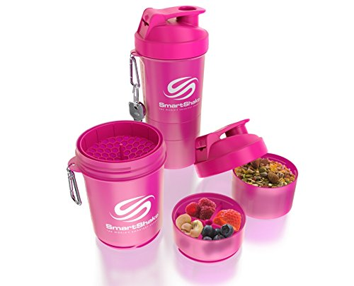 Original Bottle, 20 oz Shaker Cup, Neon Pink