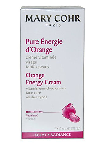Mary Cohr Orange Energy Cream All Skin Types 50ml/1.7oz. New in box New Fresh Product
