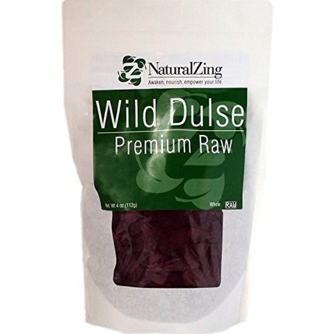 Dulse Natural Zing, Whole (Raw, Wildcrafted) 4 oz