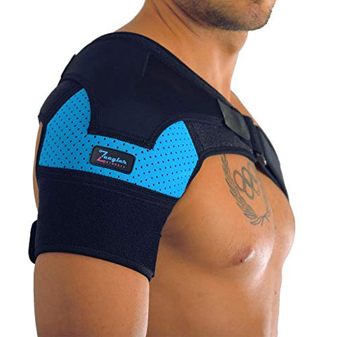 Shoulder Support Brace For Men And Women By Zeegler Orthosis   Therapy For Shoulder Instability, Pai