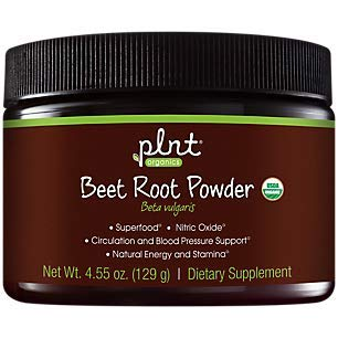 Organic Beet Root Powder Natural Energy Stamina Superfood with Nitric Oxide (30 Servings)