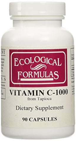 Ecological Formulas - Vitamin C-1000 from Tapioca 90 caps [Health and Beauty] by Ecological Formulas