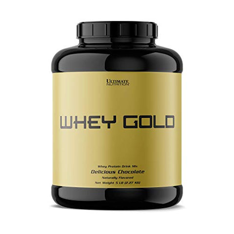Ultimate Nutrition Whey Gold Protein Powder with 20 Grams of Protein and Amino Acids for Maximum Muscle Growth and Recovery, 67 Servings, Chocolate