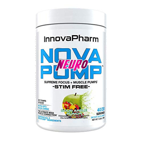 NOVAPUMP Neuro (Sour Apple Punch)